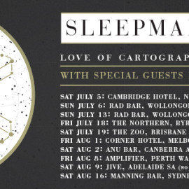 Love of Cartography Australian tour announced